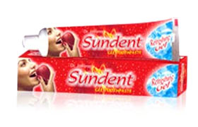 Sundent Red Gel Toothpaste